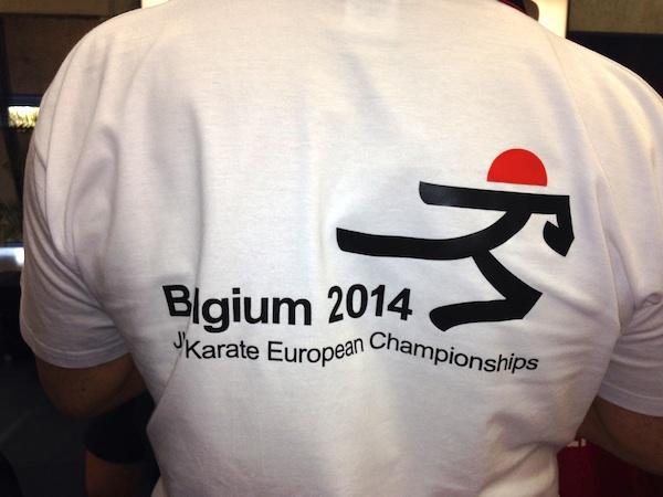 JKA Karate EM 2014 blev i år afholdt i Belgien – bronze til Danmark i holdkumite for herrer