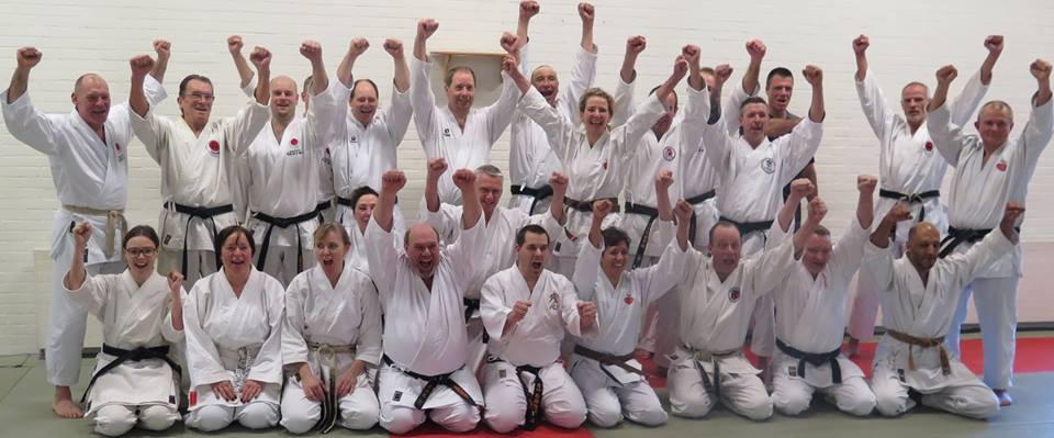 Karatetræning for gråbælter
