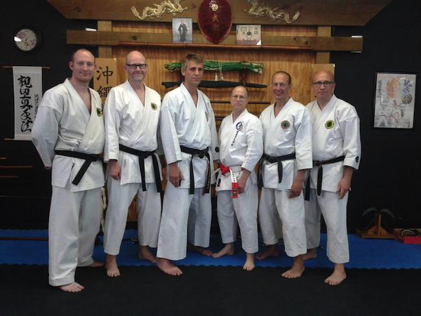 Okinawan Shuri-ryu Karate Danmark deltog i intensiv træning i USA