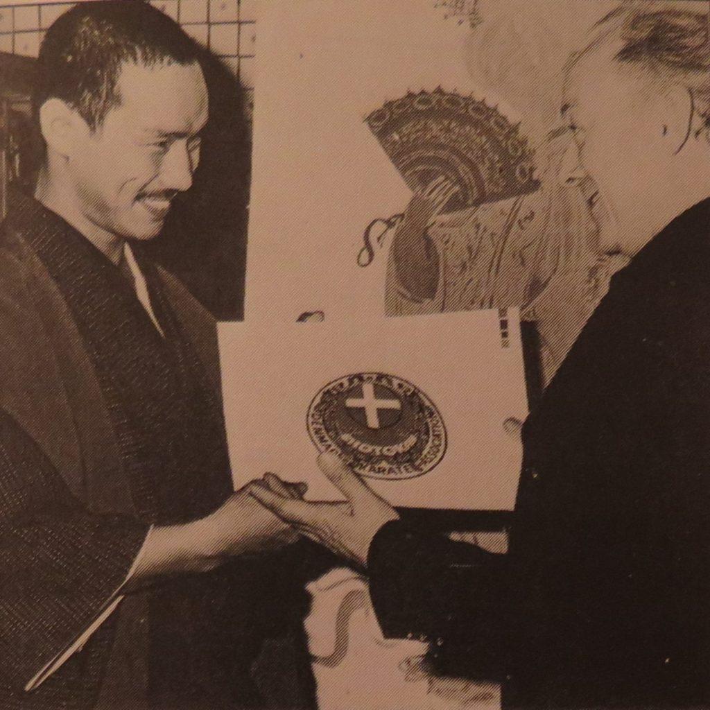 Tanaka sensei her med Bjørn Wiinblad