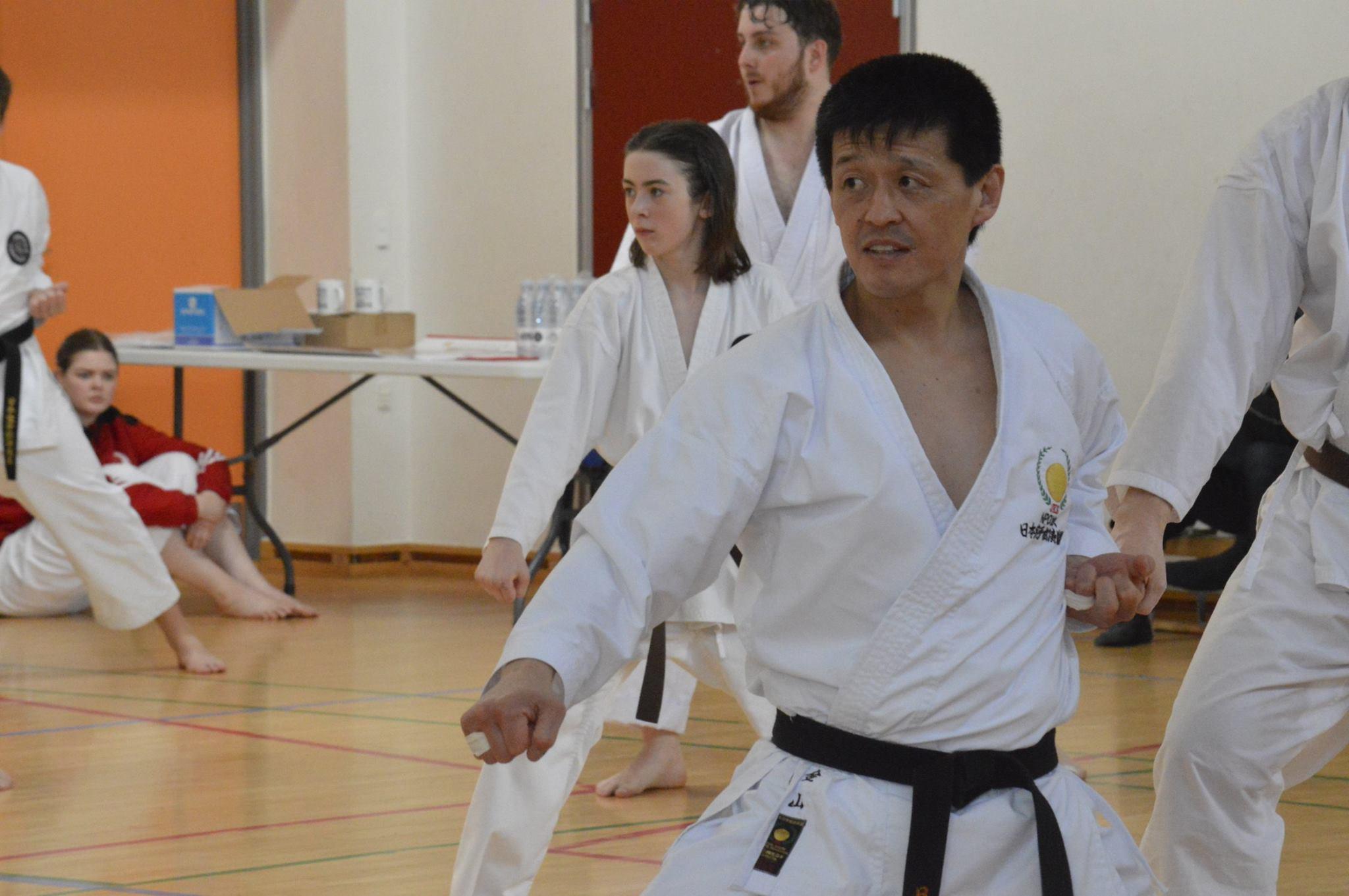 Spring camp 2016 i Hørsholm Karateklub