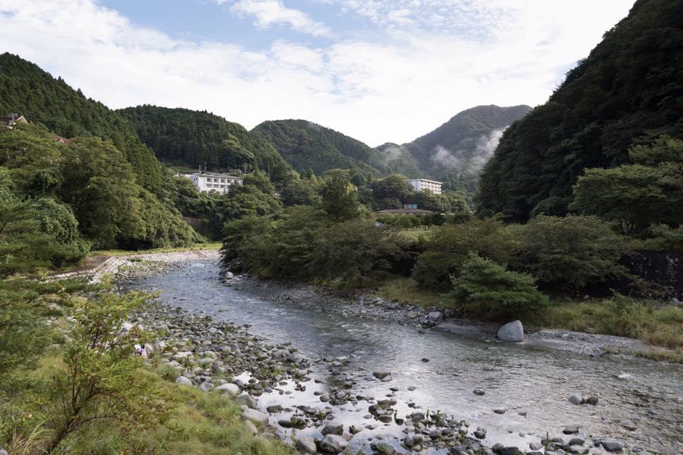 Gasshuku i bjergene i Tokyo