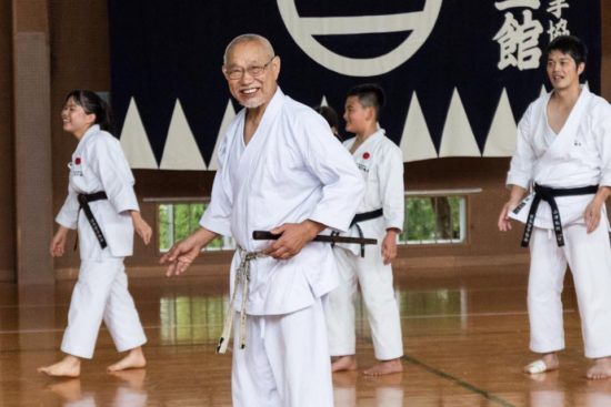 Tanaka sensei - smilende men samtidig en sensei der forlanger meget af sine elever