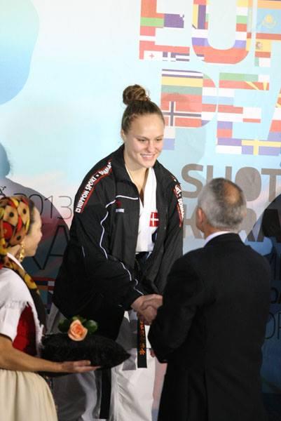 ESKA EM 2013 i Portugal – sølv og bronze til Iben Nielsen i kumite