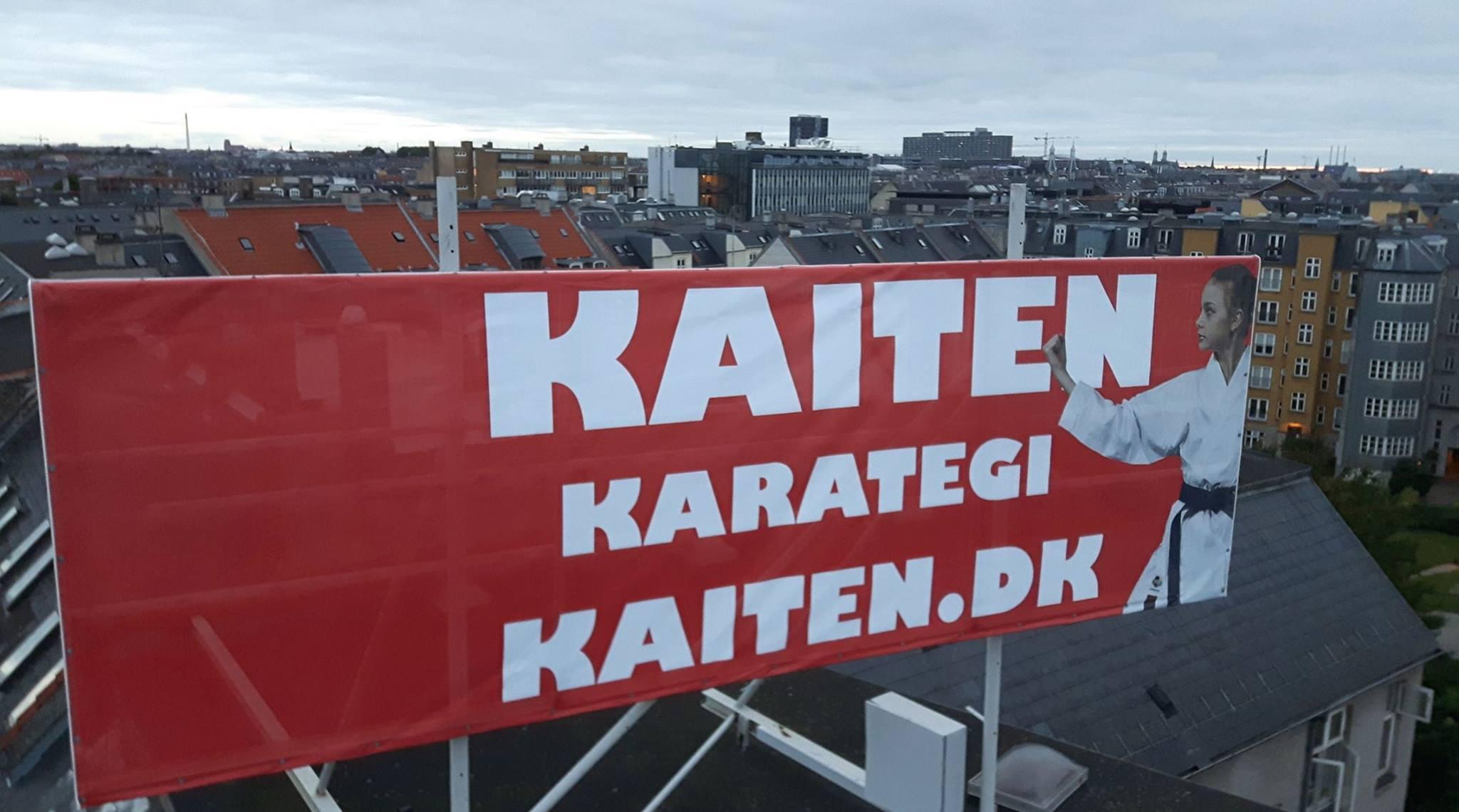 Kaiten ny hovedsponsor for det svenske karate forbund