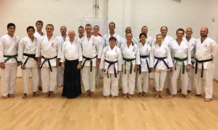 Aikido event hos SSB Shotokan Karate