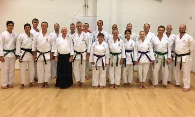 Aikido event hos SSB Shotokan Karate