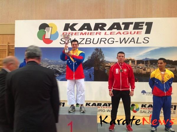 Bronze til Christopher Skotte Rohde Christensen ved Karate Premier Leage
