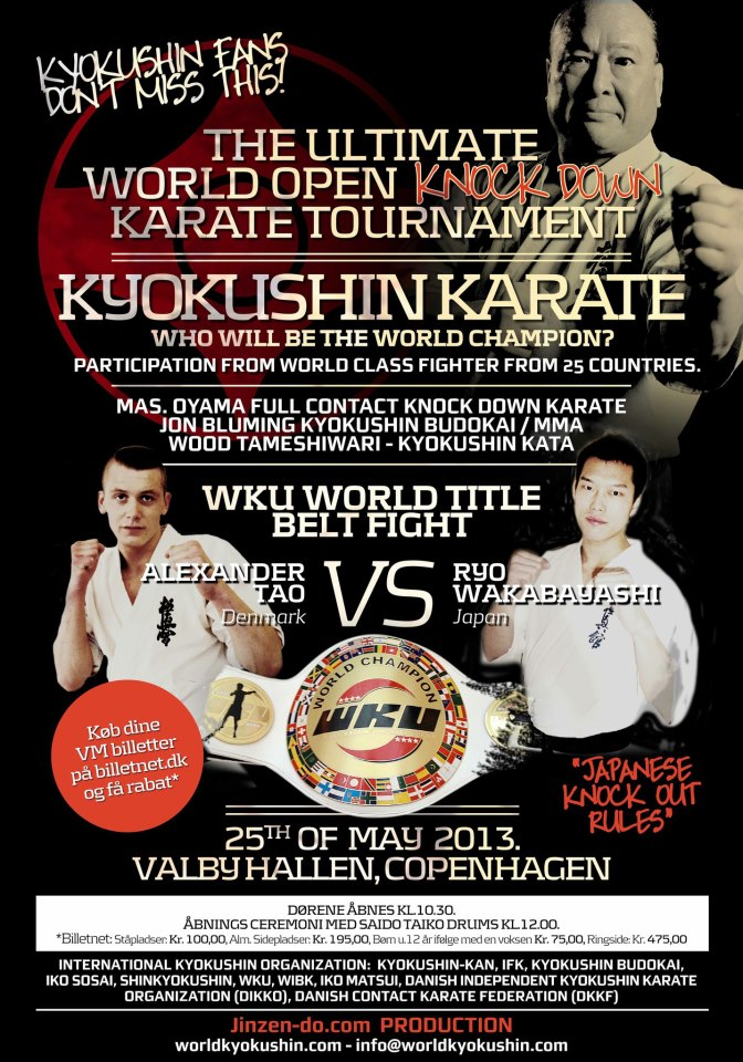 WKU Full Contact Karate Championships in Copenhagen