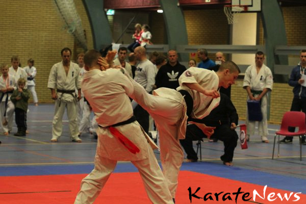 VM stævne i Kyokushin Knock Down Karate I Valbyhallen den 25. maj