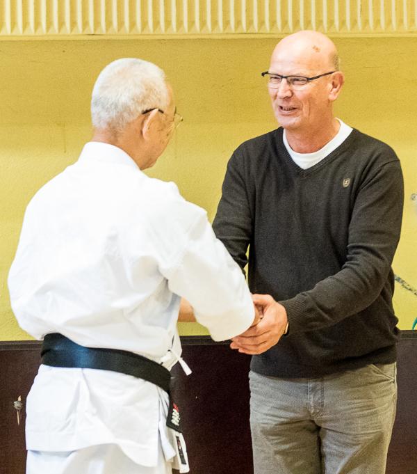John Nielsen sensei - I mange år toneangivende sensei i Shotokan Karate og formand for Dansk Karate Forbund