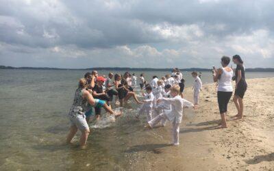 Karate i vandkanten
