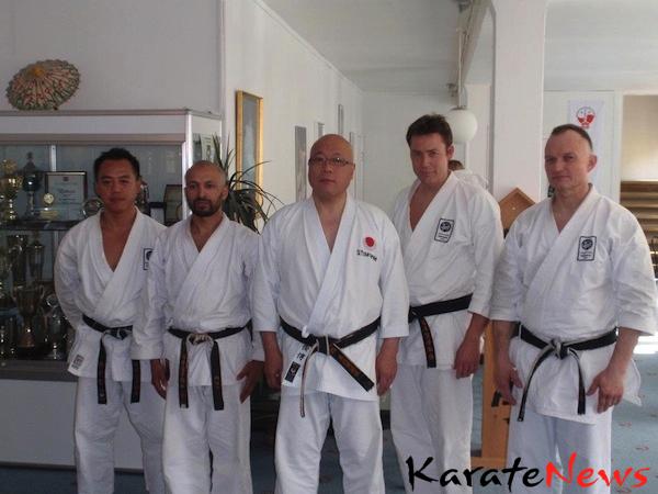 Mori sensei seminar og dangraduering i JKA Danmark