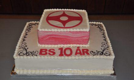 BS Karate 10 år!