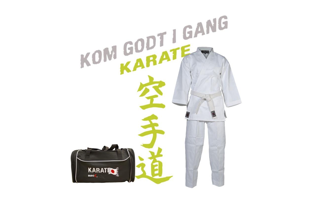 Kom godt i gang – Karate