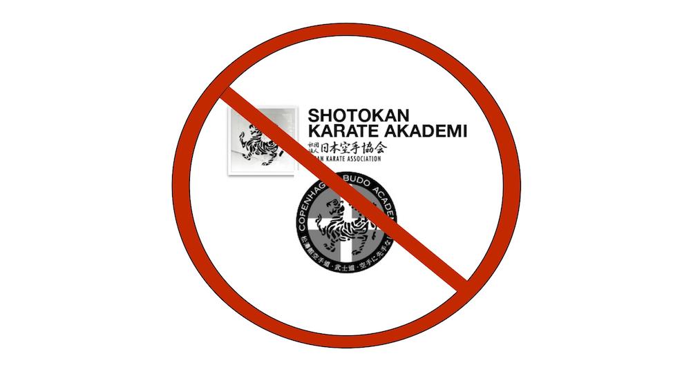 Klubberne Shotokan Karate Akademi og Copenhagen Budo Academy indstillet til eksklusion af Dansk Karate Forbund