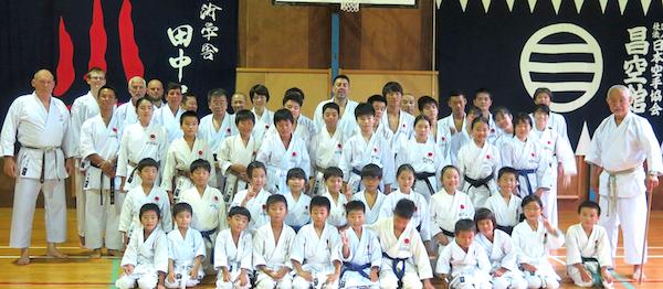 Shotogakusha på besøg hos Tanaka sensei i Japan