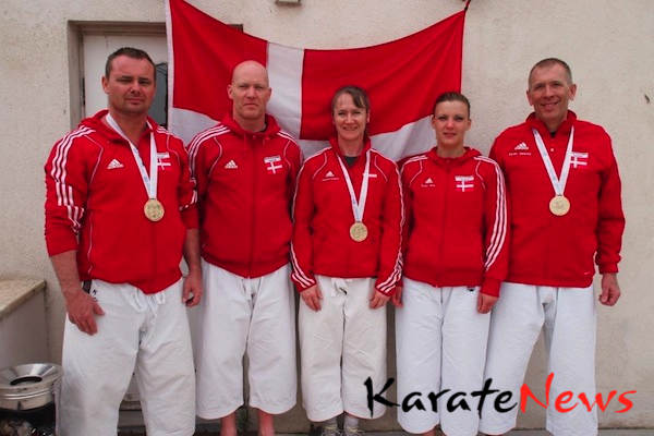 3 verdensmestre til KAD ved W.S.K.U Shotokan-VM i Istanbul