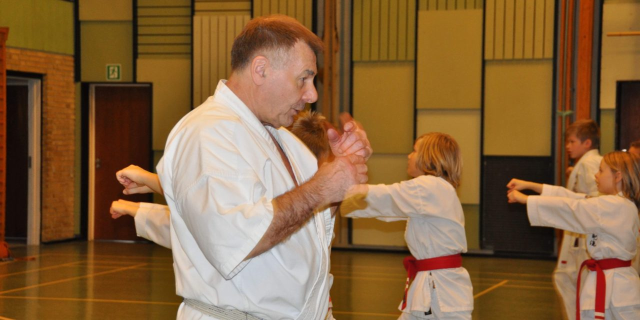 Træningsseminar ved to Shihans hos BS Karate