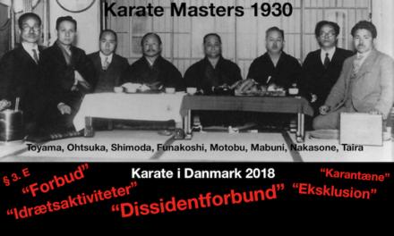 For hvem og for hvad arbejder Dansk Karate Forbund?
