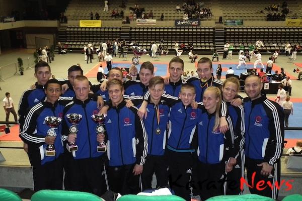 Greve Karate til Belgien Open