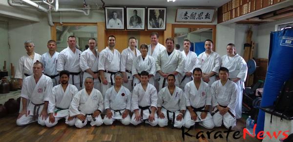 Karateturist på Okinawa