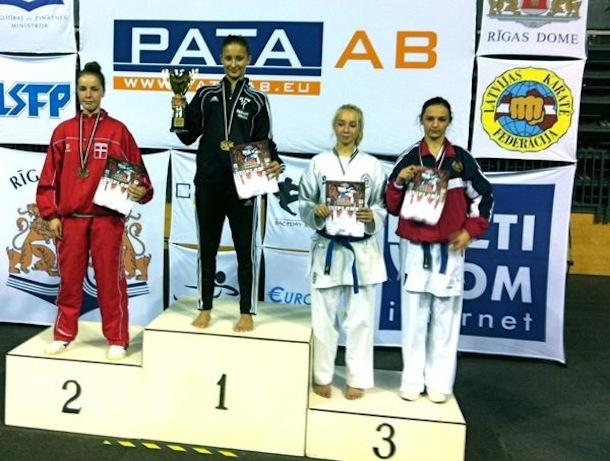 Sølv ved Grand Prix Latvia 2011