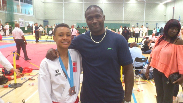 Bronze ved Central England 15th Open Karate Championships