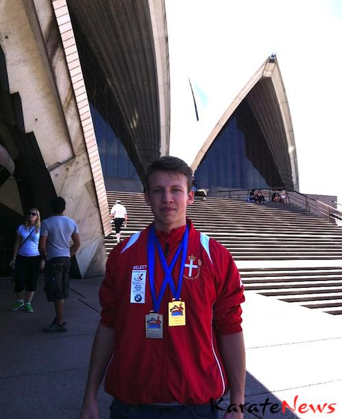 Sydney International Open 2012, Guld og Sølv til Christopher Rohde Skotte