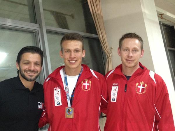WKF EM U/21 i Tyrkiet, 9. februar 2013. Rohde vinder bronze. Chris i finalen