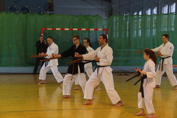 Tokushinryu Kobudo seminar i Stettin, Polen.