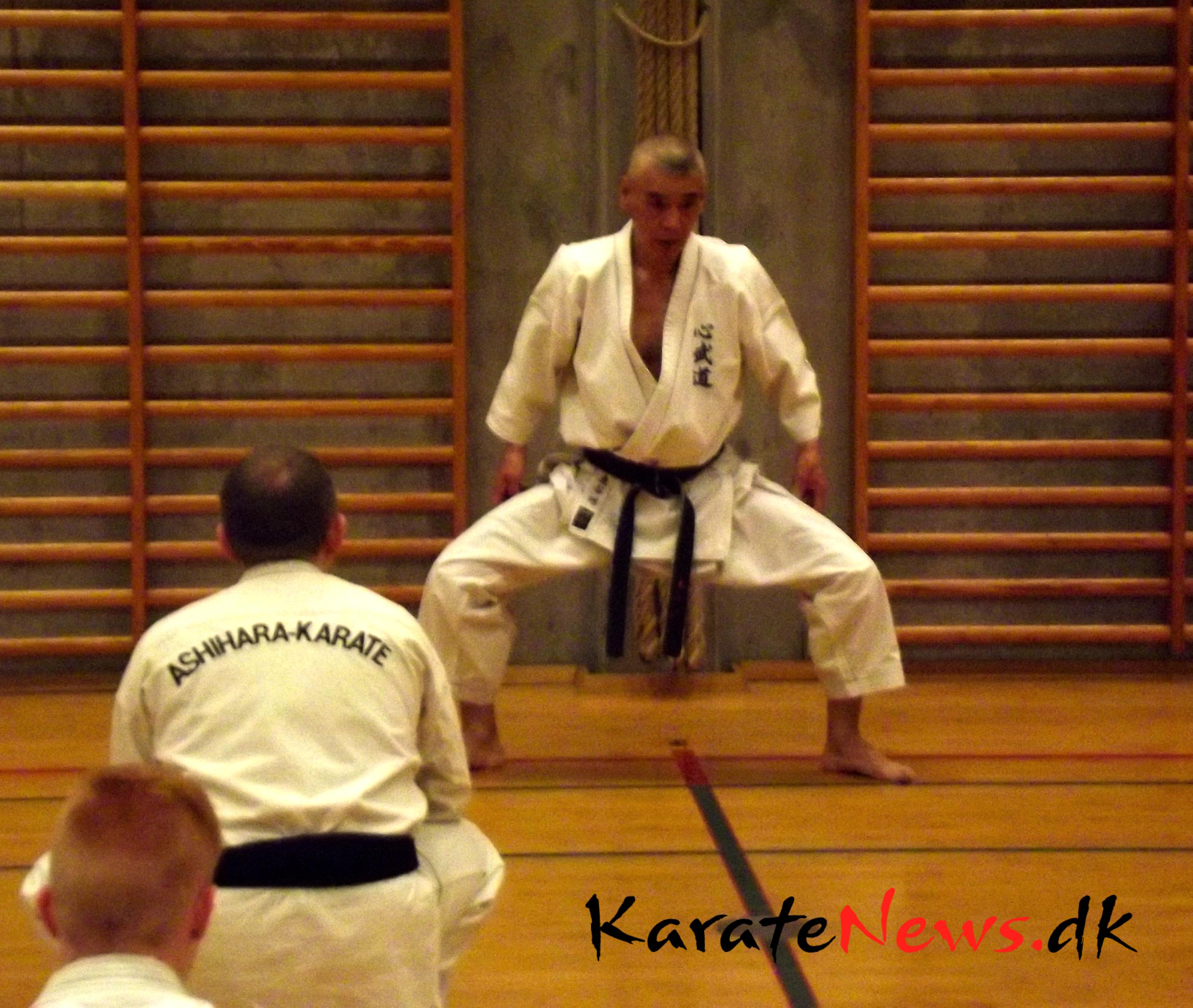 Træning med Shihan Takumi Higashidani