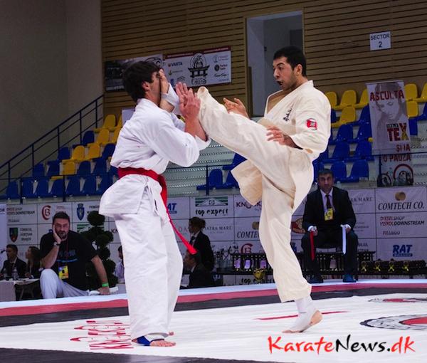 Dansk guld, sølv og bronze ved karate-VM