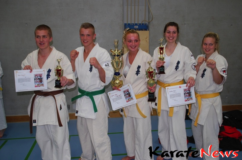 Flotte resultater for Dansk Karate Union ved Swiss Open