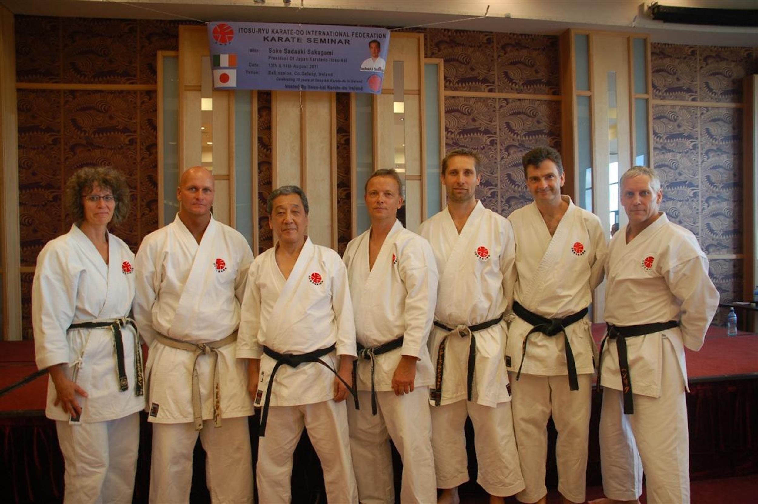 Itosu-kai seminar med Sakagami Sensei i Irland