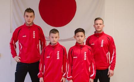 Danske karatekæmpere tager til VM i Ashihara Karate