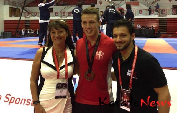 Nyt fra Dubai Open i WKF Karate