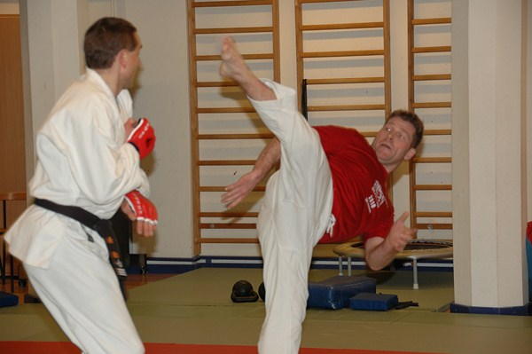 Besøg af ITF Taekwondo medaljetager, ved Vm og Em,  i Frederiksberg ju-jutsu klub.