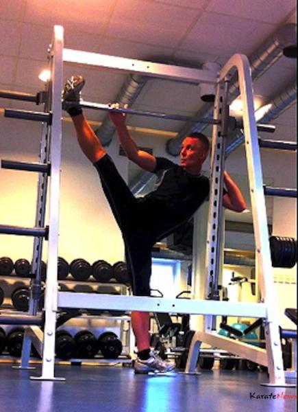 Billedet fitness er fra min daglige træning er er taget i 2012