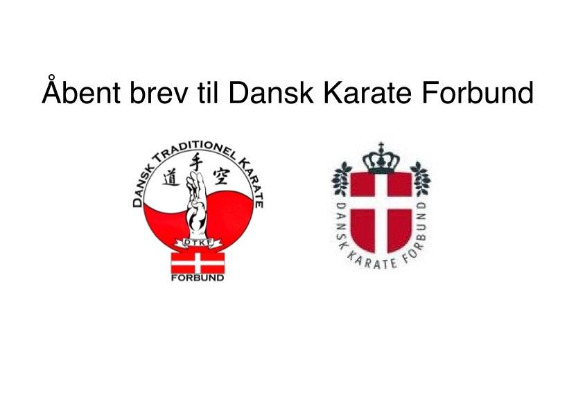 Dansk Karate Forbund kalder DM for dissident-stævne.