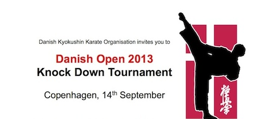 Danish Open 2013, Copenhagen, 14th September