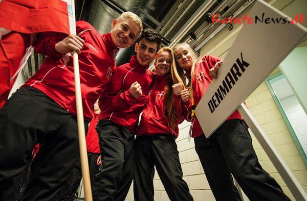 EM u/21 WKF karate i Portugal – kæmpe succes til kumitekæmperne