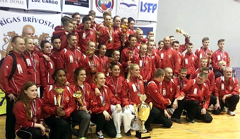 Resultater Nordiske mesterskaber i karate 2014