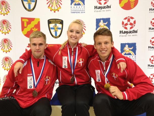 Topresultater ved Finnish Open 2012