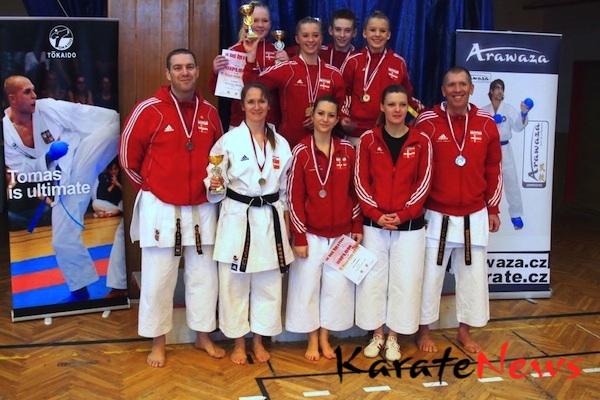 Medaljehøst til KAD ved Kesl Cup i Prag