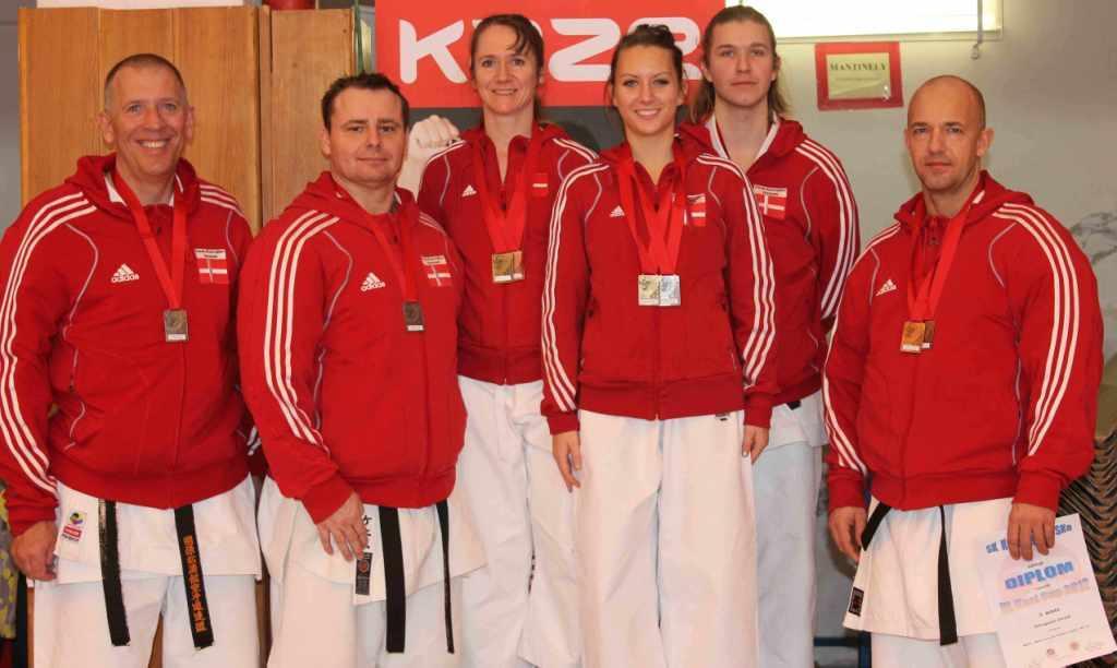 Flotte danske resultater ved IV. Kesl Cup 2012 i Prag