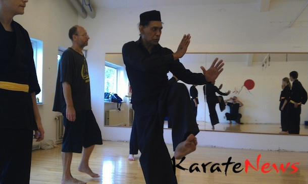 Workshop Charles Renoult – Pencak Silat