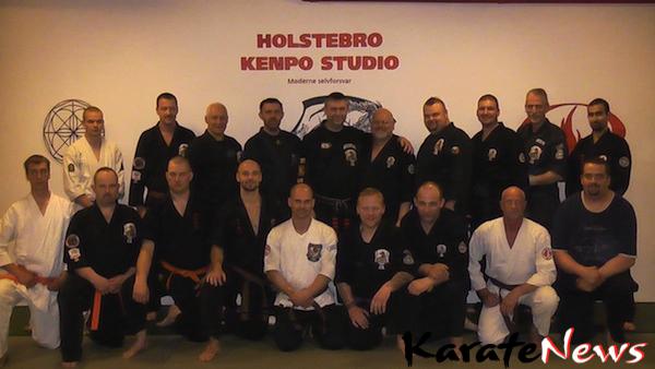 Højbælte-graduering og Seminar i Holstebro Kenpo Studio
