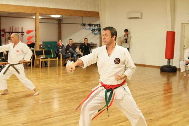 Venskabsturnering mellem Hørsholm Karate Klub og Taifu Karate Klub