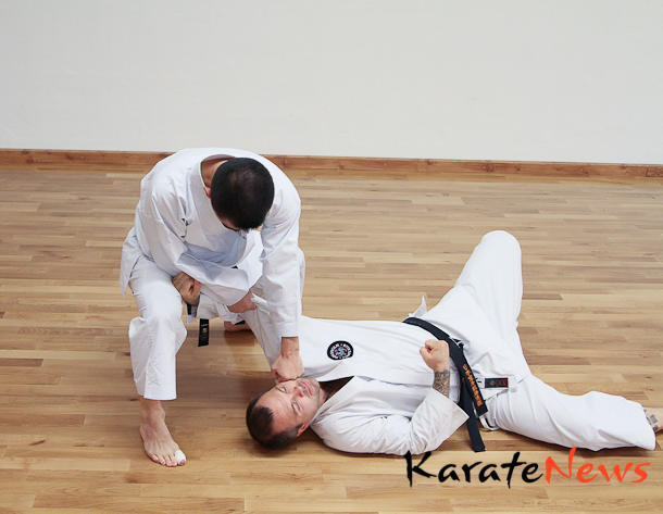 Teknikserie med Yasuhisa Inada sensei, 5. dan JKS